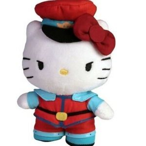 NWT Hello Kitty (Major Bison / Street Fighter)